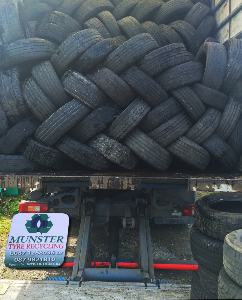 Lorry Back Munster Tyre Recycling