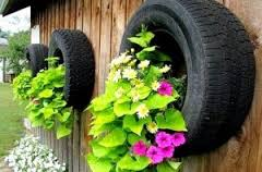 tyres and flowers 2