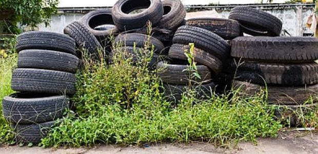 waste tyres image